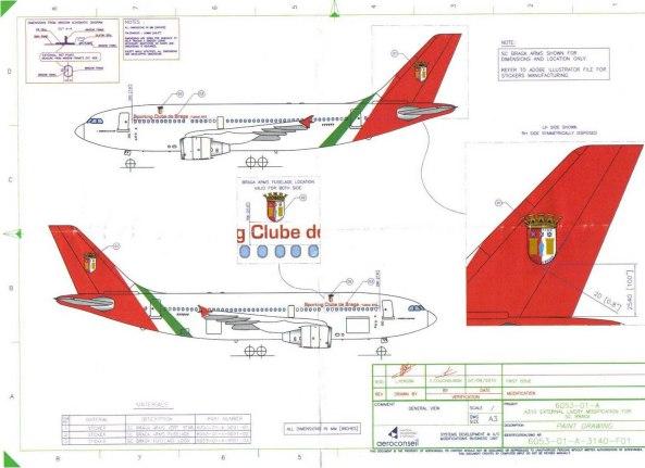 Avião Sporting de Braga Projecto
