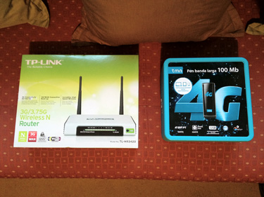 MEO 4G / Router TP-LINK MR3420