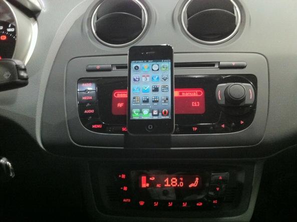 Ventosa dupla para iPhone