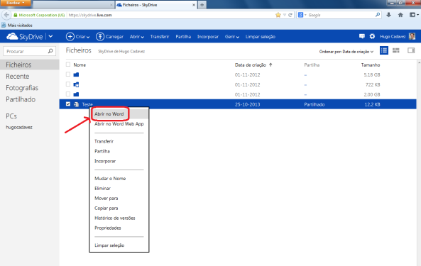 Como trabalhar com vários utilizadores no mesmo documento Word (imagem 4)
