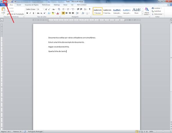 Como trabalhar com vários utilizadores no mesmo documento Word (imagem 5)