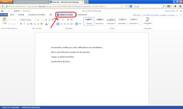 Como trabalhar com vários utilizadores no mesmo documento Word (imagem 7)